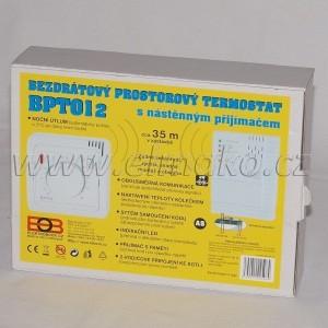 POŠTOVNÉ ZDARMA! BPT012 - bezdrátový termostat ( náhrada za BPT01 )