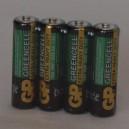 Tužková baterie GP 1,5V AA R6P