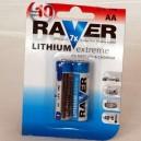 Lithiová baterie Raver AA L6/2B