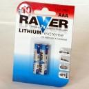 Lithiová baterie Raver AAA L03/2B
