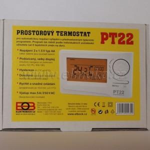 POŠTOVNÉ ZDARMA! PT22 (0622) Prostorový termostat - digitální
