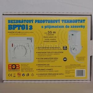 POŠTOVNÉ ZDARMA! BPT013 - bezdrátový prostorový termostat