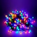 300 LED, 30 m, 21 W, Vánoční osvětlení - řetěz cherry, IP 44, multicolor