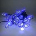 40 LED, 4 m, 2 W, Vánoční osvětlení - řetěz kapka, IP 4, BC