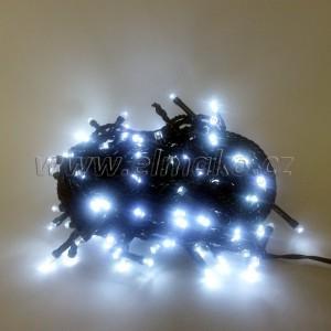 EMOS 120LED vánoční osvětlení - řetěz 12m, IP44, CW