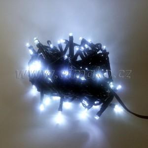 EMOS 80LED vánoční osvětlení - řetěz 8m, IP44, CW