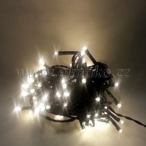 EMOS 40LED vánoční osvětlení - řetěz 4m, IP44, WW