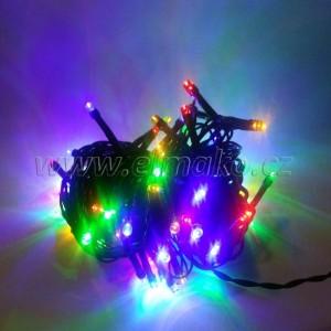 EMOS 80LED vánoční osvětlení - řetěz 8m, IP44, MC