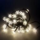 40 LED, 4 m, 2 W, Vánoční osvětlení - řetěz diamant, IP 44, WW