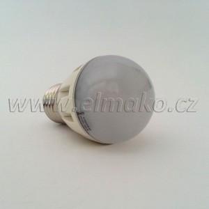 LED žárovka 6W Mini Globe E27 400lm WW