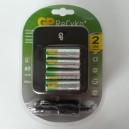 PB550 GP nabíječka baterií + 4 AA ReCyko