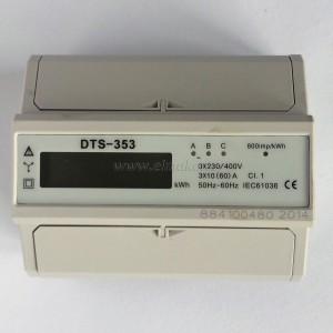 Elektroměr DTS 353-L 60A,  digitální, 7M, třífázový