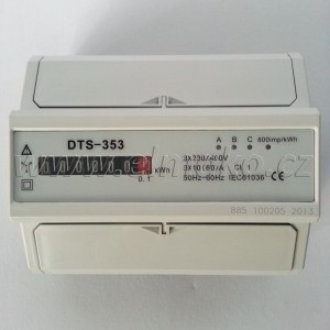 Elektroměr DTS 353-M 60A 7M mechanický, třífázový