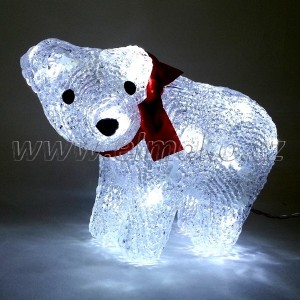 EMOS Vánoční osvětlení medvěd - 16 LED, 1W, denní bílá