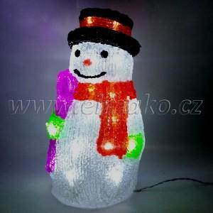 EMOS Vánoční osvětlení sněhulák - 30 LED, 2W, denní bílá  !Poštovné zdarma!