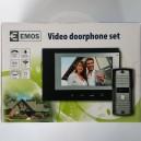 Poštovné zdarma! EMOS Sada barevného videotelefonu H2012 černá