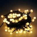 EMOS 80LED vánoční osvětlení Cherry 8m, IP44, WW, časovač
