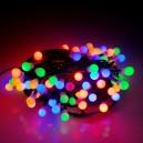 EMOS 80LED vánoční osvětlení Cherry 8m, IP44, MC, časovač