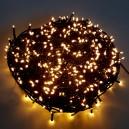POŠTOVNÉ ZDARMA! EMOS 768LED vánoční osvětlení - řetěz 76m, IP44, WW, časovač