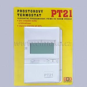 POŠTOVNÉ ZDARMA! PT21 prostorový termostat ELEKTROBOCK