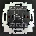 Strojek č.6+6 3558-A52340 ABB, střídavý dvojitý