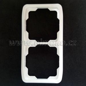 Rámeček dvojnásobný svislý 3901A-B21 B Tango bílá