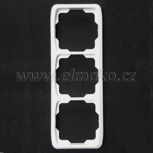 Rámeček trojnásobný svislý 3901A-B31 B Tango bílá