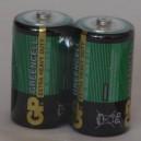 Baterie GP 1,5V R20 (D, velké mono)