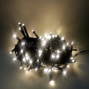 EMOS 120LED vánoční osvětlení - řetěz 12m, IP44, WW