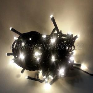 EMOS 80LED vánoční osvětlení - řetěz 8m, IP44, WW