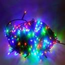240 LED, 24 m, 11 W, Vánoční osvětlení - řetěz, IP 44, multicolor