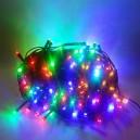 180 LED, 18 m, 9 W, Vánoční osvětlení - řetěz, IP 44, multicolor