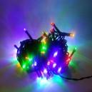 80 LED, 8 m, 4 W, Vánoční osvětlení - řetěz, IP 44, multicolor