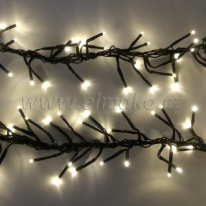 EMOS 288 LED, 2,4 m, 11 W, Vánoční osvětlení - řetěz ježek, IP 44, WW