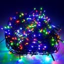 POŠTOVNÉ ZDARMA! EMOS 500LED vánoční osvětlení - řetěz 50m, IP44, MC, časovač