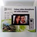 Sada videotelefonu H1019 bílá EMOS s pamětí  !!!Poštovné zdarma!!!