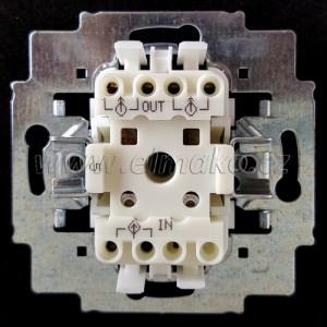 Strojek č.5 3559-A05345 ABB, lustrový bezšroubový